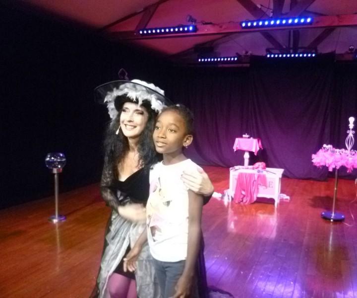 Yogane sur scène en Martinique