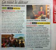 Yogane Télé 7 Jours - Mars 2014