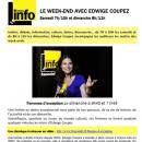 La magicienne Yogane interviewée sur France Info le 22 juin 2014