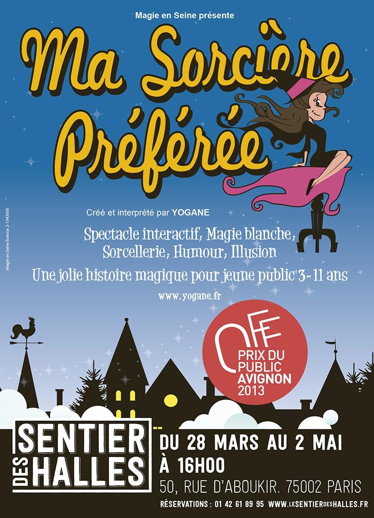 La Sorcière reprend au Sentier des Halles ce samedi 11 avril