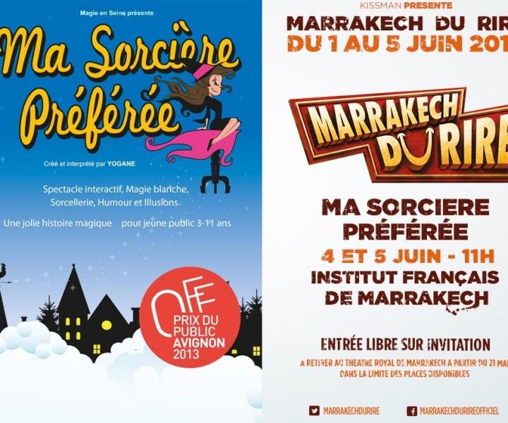 Affiche Yogane magicienne Marrakech du Rire 2016
