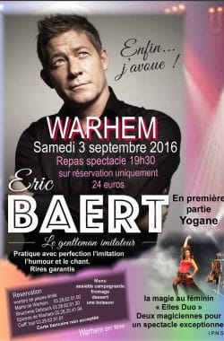 Spectacle Magicienne Warhem Nord 0916