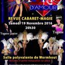 Yogane dans la revue Paris d'Amour dans le Nord