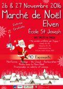 Yogane au 15ème Marché de Noël d'Elven (Bretagne)