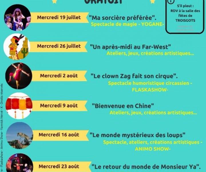 Magicienne Yogane - Festival des Goûters de La Chapelle sur Vire