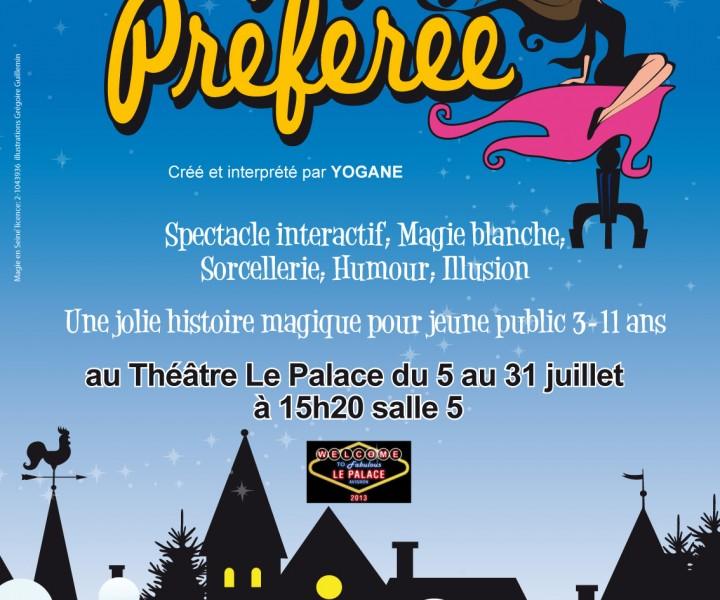 Affiche Ma Sorcière Préférée Avignon