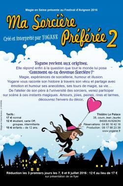Affiche Ma Sorcière Préférée 2 de Yogane la magicienne