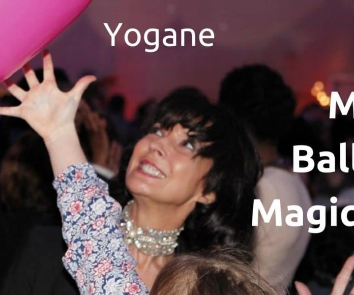 Un ballon prend vie magiquement... et vos clients et les spectateurs peuvent jouer avec lui. Une prestation proposée en cocktail, en close-up ou en scène par la magicienne Yogane !