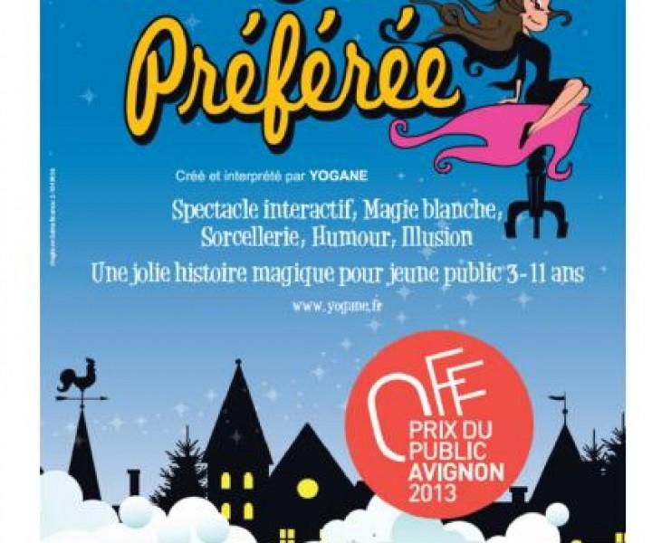 La magicienne Yogane sera à Lamorlaye dans l'Oise en région Hauts-de-France pour son spectacle de magie pour enfants, Ma Sorcière Préférée le 25 octobre 2017